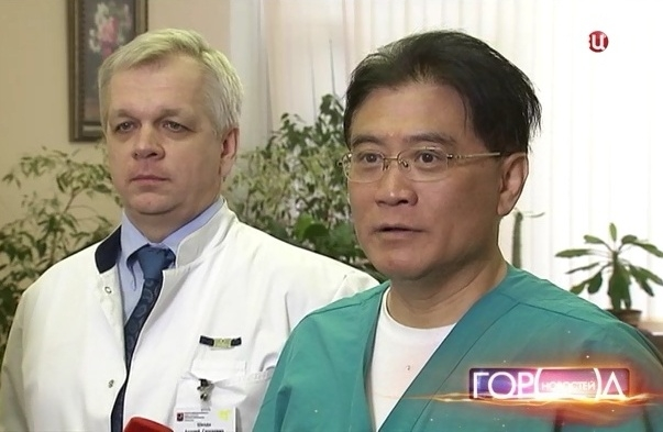 In Moscow City Hospital No. 67 surgeons did a unique operation using a robot