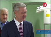 Sergey Sobyanin visited Moscow Spinal Center